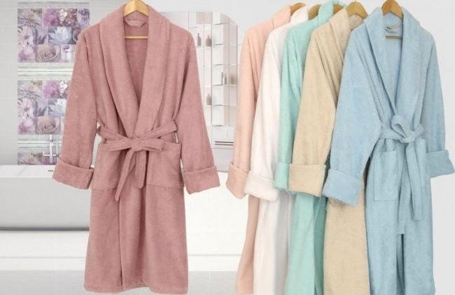 Востребованные виды халатов